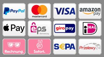 Logo unserer Zahlungsarten
